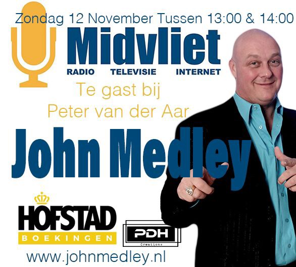 Evenementen John Medley november 2017
