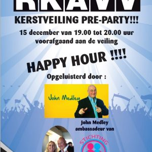 Evenementen John Medley december 2017