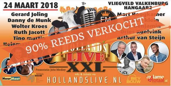 Hollands live XXL