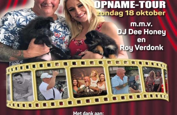 John Medley Movieclip opname-tour